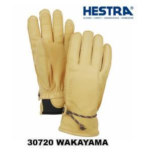 HESTRA 30720 WAKAYAMA 700 NaturalBrown へストラ柔らかい革 ス...