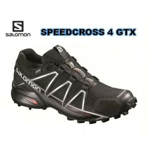 SALOMON  SPEEDCROSS 4 GORE-TEX トレイルランニングシューズ GTX B...