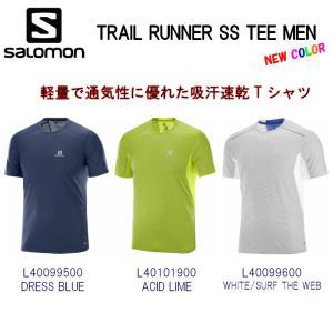 18SS TRAIL RUNNER SS TEE MEN  軽量で通気性に優れた吸汗速乾Tシャツ。 ...