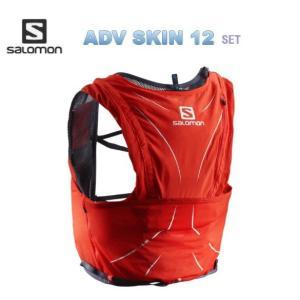 SALOMON 18SS ADV SKIN 12 SET L40138300 FIERY RED ト...