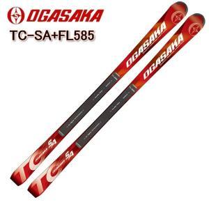 2018 2019 OGASAKA TC-SA + FL585 プレートセット オガサカスキー TCシリーズ スキー板+プレート付 送料無料