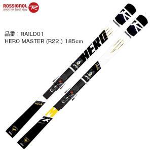 2019 2020 ROSSIGNOL HERO MASTER R22 + SPX12 ROCKERACE BK ICON 185cm ロシニョール ヒーロー マスターズ レーシング ビンディングセット