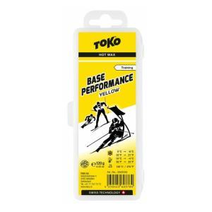 TOKO BASE PERFORMANCE トコ イエロー 120g HOT WAX スキー ホット...
