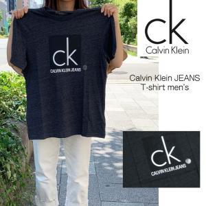 即日発送!Calvin Klein Jeans カルバンクライン ロゴ Tシャツ グレー  メンズ レターパック360にて発送 正規品 送料無料 US直輸入|amscloset