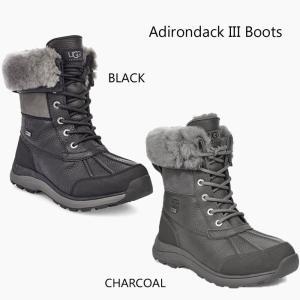 UGG アグ ADIRONDACK BOOT III アディロンダック スノーブーツ 防水 撥水 ブーツ ボア レディース ブラック グレー 正規品 送料無料 US直輸入|amscloset|03
