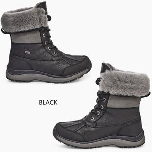 UGG アグ ADIRONDACK BOOT III アディロンダック スノーブーツ 防水 撥水 ブーツ ボア レディース ブラック グレー 正規品 送料無料 US直輸入|amscloset|04