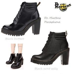 【正規品】送料無料★US直輸入 Dr. Martens Persephone ドクターマーチン ペルセフォネ 6ホール ブラック レディース