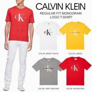 Calvin Klein Jeans カルバンクライン regularfit mens mono logoT レギュラーフィット ロゴ Tシャツ メンズ 正規品 送料無料 US直輸入|amscloset