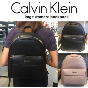 Calvin Klein カルバンクライン Backpack バックパック  リュック シンプル ラージサイズ 正規品 送料無料 US直輸入|amscloset