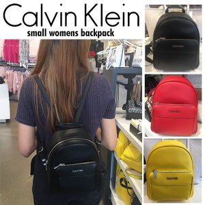 Calvin Klein カルバンクライン Small Backpack ミニ バックパック  リュック シンプル スモールサイズ 正規品 送料無料 US直輸入|amscloset