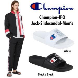 Champion チャンピオン IPO JOCK  メンズ スライドサンダル シャワサン ロゴ ビーサン サンダル 送料無料 正規品 US直輸入 amscloset
