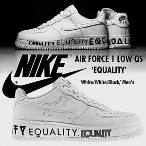 the latest 0f2ec fa180 Nike AIR FORCE 1 Low CMFT EQUALITY イクオリティ エアフォース1 メンズ スニーカー ナイキ AQ2118-100  US限定 正規品 送料無料 US直輸入
