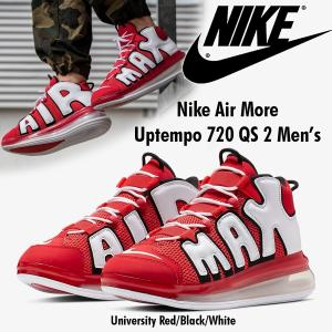 即日発送!Nike Air More Uptempo 720 QS2 メンズ ナイキ モアテン720 25.5cm エアモアアップテンポ レッド CJ3662-600 正規品・送料無料|amscloset