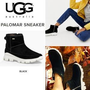UGG palomar sneaker アグ パロマー 日本完売カラー 黒 スニーカー ブーツ ショートブーツ スエード ウォータープルーフ 撥水 正規品 送料無料 US直輸入|amscloset