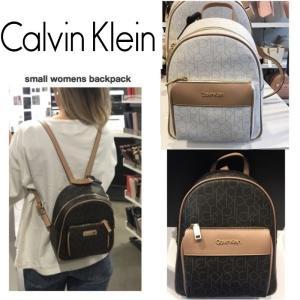 Calvin Klein カルバンクライン  ミニバックパック 2019 ミニリュック モノグラム ロゴ ckロゴ 正規品 送料無料 US直輸入|amscloset
