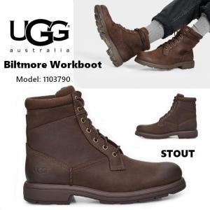 UGG Biltmore Workboot アグ ビルトモア ワークブーツ メンズ レースアップ ブラウン 防水 正規品 送料無料 US直輸入|amscloset