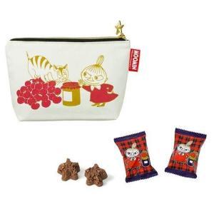 「ムーミン×メリーチョコレート」リトルミイポーチ 61g入【メリーチョコレート】バレンタイン ホワイ...