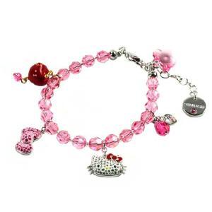 SWAROVSKI スワロフスキー ハローキティ コラボ ブレスレット Hello Kitty Bead  1097202 レディース メンズ ブランド 新作 amulet
