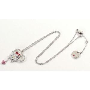 スワロフスキー SWAROVSKI ハローキティ コラボ ネックレス Hello Kitty Iconic Heart  1106120 レディース メンズ ブランド 新作 amulet