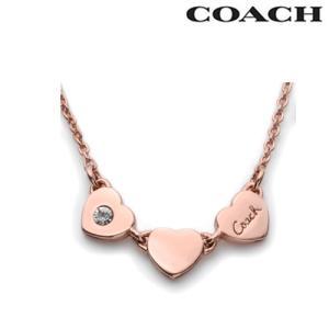 コーチ アクセサリー COACH ネックレス レディース ハート ステーション ローズゴールド 26527 RSCLE N/メンズ/レディース|amulet