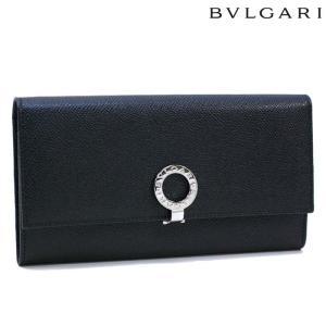 ブルガリ 長財布 BVLGARI 革 グレインレザー ブラック 30414   レディース メンズ ブランド 新作|amulet