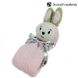 kashwere ( カシウエア ) ベビー アニマル ブランケット ウサギ ラビット / ピンク [ kk-60-01-40 ]|amulet
