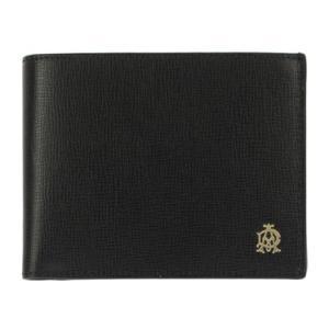 ダンヒル 財布 dunhill 二つ折り財布 ベルグレイブ BELGRAVE レザー ブラック メンズ L2S832A amulet