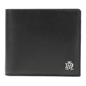 ダンヒル 財布 dunhill 二つ折り財布 リーブス REEVES レザー ブラック メンズ L2XR32A amulet