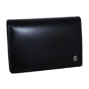 カルティエ 名刺入れ Cartier パシャ カードケース ブラック L3000132|amulet