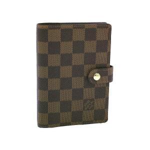 ルイヴィトン ダイアリー LOUIS VUITTON アドレス 手帳カバー アジェンダ PM ダミエ R20700 amulet