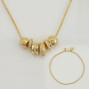 Swarovski スワロフスキー   ネックレス+ブレスレット  ゴールド SK-1095589 レディース メンズ ブランド 新作 amulet