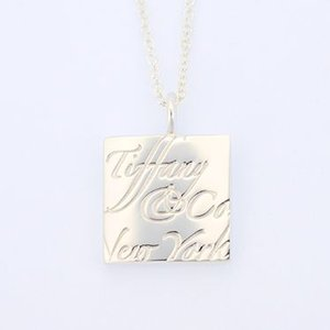 ティファニー アクセサリー TIFFANY&CO. ネックレス ペンダント ノーツコレクションスクエアネックレス 22991841/メンズ/レディース|amulet