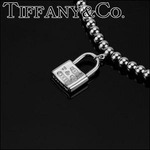 ティファニー アクセサリー TIFFANY&CO.  ブレスレット 1837 コレクション ロック タグ ビーズチェーン シルバー 25069714/メンズ/レディース|amulet