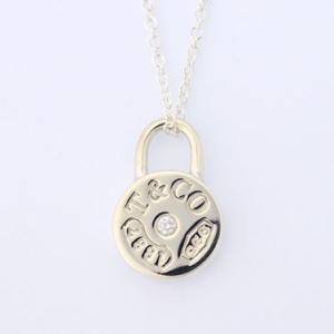 ティファニー アクセサリー TIFFANY&CO. ネックレス ペンダント ラウンド ロック ペンダント ミニ ダイヤモンド 25102665/メンズ/レディース|amulet
