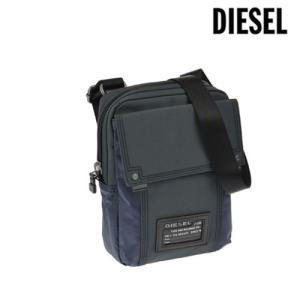 ディーゼル バッグ ショルダーバッグ DIESEL メンズ 斜め掛け ブルー X01680 PR520 H4831 amulet