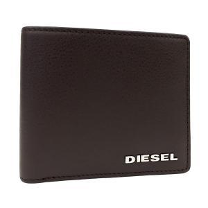 ディーゼル 財布 DIESEL 二つ折り財布 HIRESH レザー メンズ ダークブラウン X03150 PS777 T2184 amulet