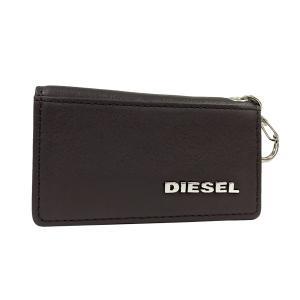ディーゼル キーケース DIESEL 6連 キーホルダー JEM WALLETS レザー メンズ ダークブラウン X03154 PS777 T2184 amulet