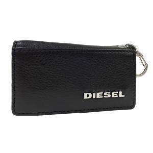 ディーゼル キーケース DIESEL 6連 キーホルダー JEM WALLETS レザー メンズ ブラック X03154 PS777 T8013 amulet