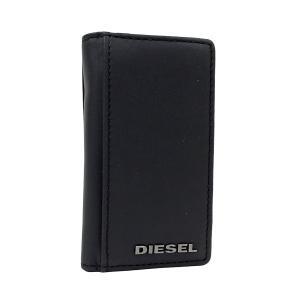 ディーゼル キーケース DIESEL 6連 キーホルダー マット レザー メンズ ブラック ダークグリーン X03615 PR478 H5856 amulet