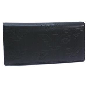 エンポリオ アルマーニ 財布  長財布 ブラック YEM474 YH187 80001   レディース メンズ ブランド 新作|amulet