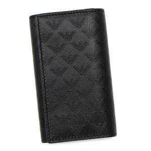エンポリオ アルマーニ EMPORIO ARMANI キーケース  ブラック YEMG68 YC043 80001  レディース メンズ ブランド 新作|amulet