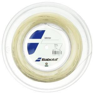 バボラ アディクション(125/130)200Mロール 硬式テニス マルチフィラメント ガット (Babolat addiction )243078|amuse37