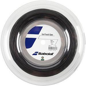 バボラ エクセル(ブラック)フレンチオープン(125mm/130mm)200Mロール 243111 硬式テニス マルチフィラメント ガット(Babolat Xcel)【2015年8月登録】|amuse37