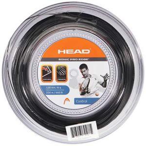 ヘッド ソニックプロ エッジ(1.25mm/1.30mm) 200Mロール 硬式テニスガットポリエステルガットHead Sonic Pro Edge 200m roll strings amuse37