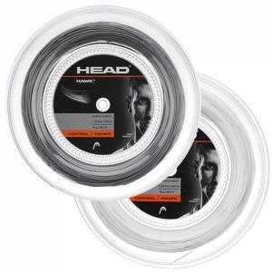 ヘッド ホーク(1.20mm/1.25mm/1.30mm)200Mロール 281113 硬式テニスガットポリエステルガットHead HAWK 200m roll strings【2015年8月登録】 amuse37