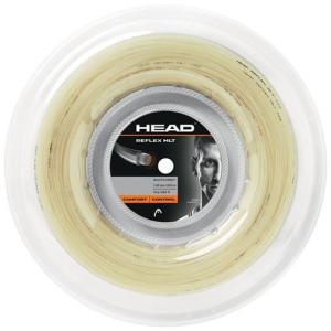 ヘッド リフレックス MLT 200Mロール(1.25mm/1.30mm)硬式テニスガット マルチフィラメントガット281314(Head Reflex MLT String)【2016年7月登録】 amuse37