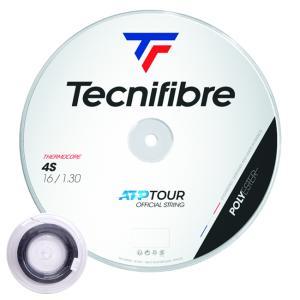 テクニファイバー ブラックコード4S 200Mロール (120/125/130) 硬式テニス ポリエステル ガット(TECNIFIBRE BLACK CODE 4S 200M Reel)【2015年5月登録】|amuse37