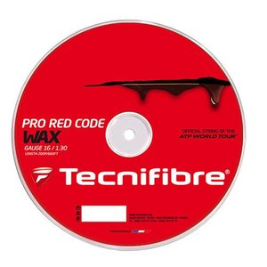 テクニファイバー プロ レッドコード ワックス 200Mロール (120/125/130) 硬式テニス ポリエステル ガット(TECNIFIBRE RED CODE WAX 200M Reel)【2016年5月】|amuse37