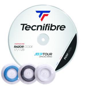 【200Mロール】テクニファイバー レーザーコード(120/125/130) 硬式テニスガット ポリエステルガット (Tecnifibre RazorCode)|amuse37