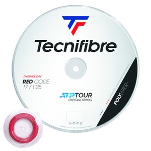 テクニファイバー レッドコード(120/125/130)200Mロール 硬式テニス ポエステル ガット(Tecnifibre Red Code )TFGP6R|amuse37